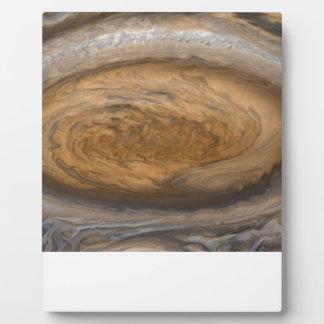 Plaque Photo La grande tache rouge de Jupiter