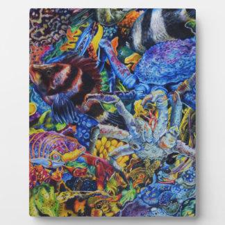 Plaque Photo Lagune de homard