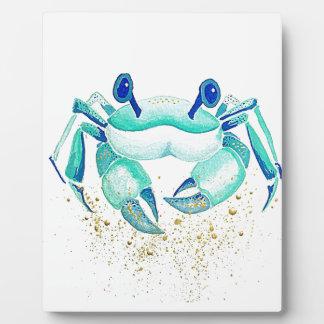 Plaque Photo Le crabe de Neptune