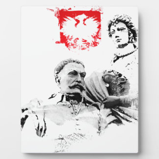 Plaque Photo Le Roi polonais janv. III Sobieski et Marysienka