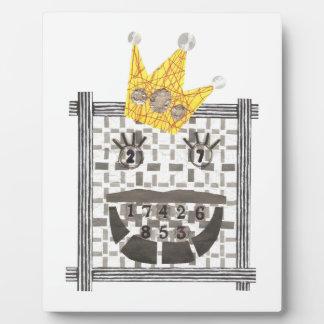 Plaque Photo Le Roi Sudoku sur un chevalet