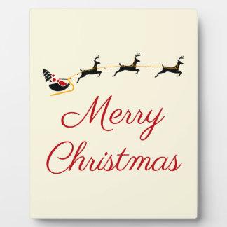 Plaque Photo Le thème I de Noël