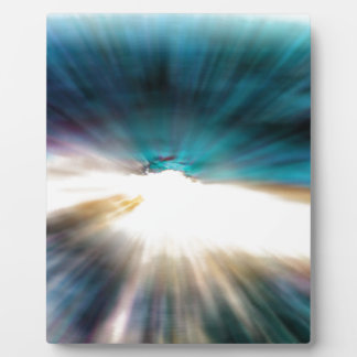 Plaque Photo L'eau abstraite - vitesse de la lumière