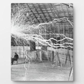 Plaque Photo L'électricité de Nikola Tesla
