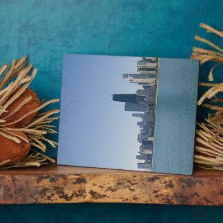 Plaque Photo L'horizon de Chicago