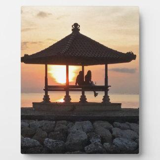 Plaque Photo Lune de miel dans Bali