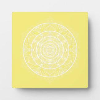 Plaque Photo Mandala de fruit d'étoile