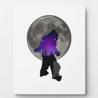 Plaque Photo Marcheurs de lune