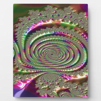 Plaque Photo Masques de fractale de jalousie