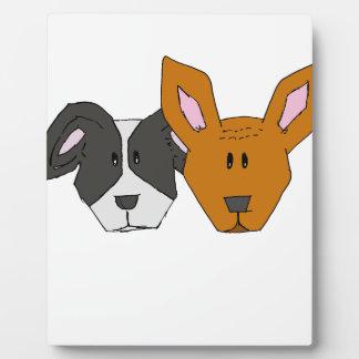 Plaque Photo Meilleurs amis - les chiens