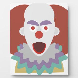 Plaque Photo Monstre de refroidissement de regard de Halloween