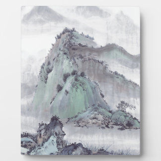 Plaque Photo Montagne sauvage