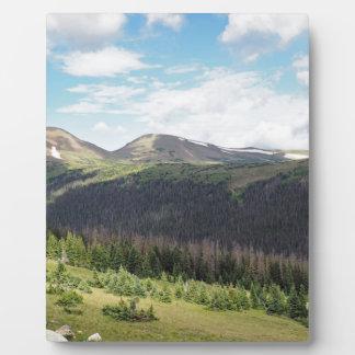 Plaque Photo montagnes rocheuses dans le Colorado