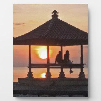 Plaque Photo Moring en île de Bali