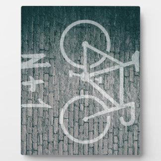 Plaque Photo N+1 graffiti de vélo