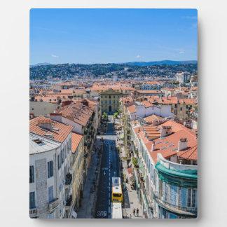 Plaque Photo Nice du centre, France