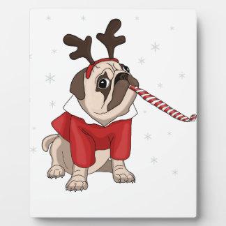 Plaque Photo Noël de carlin