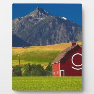Plaque Photo Paysage pittoresque de montagne