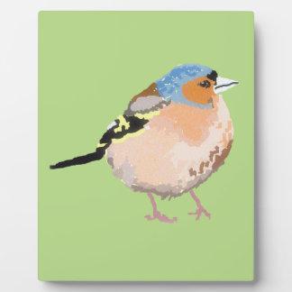 Plaque Photo petit oiseau