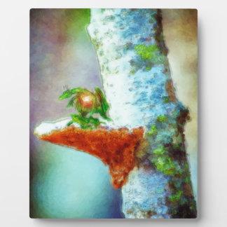 Plaque Photo Petits sommeils d'un dragon