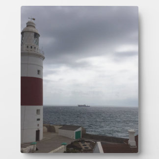Plaque Photo Phare du Gibraltar
