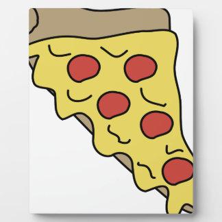 Plaque Photo Pizza d'égoutture