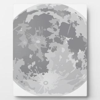 Plaque Photo Pleine lune