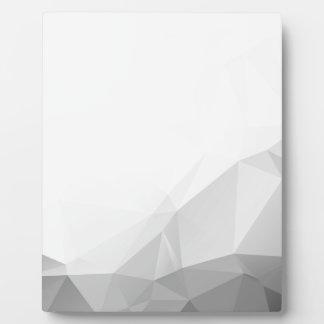 Plaque Photo Polygonal