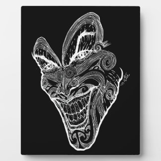 Plaque Photo Psychopathe