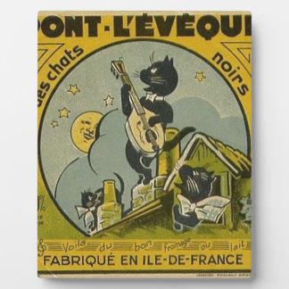 Plaque Photo Publicité française vintage
