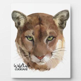 """Plaque Photo """"Puma """""""