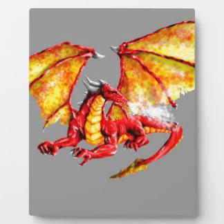 Plaque Photo Red dragon