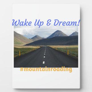 Plaque Photo Réveillez-vous et rêvez