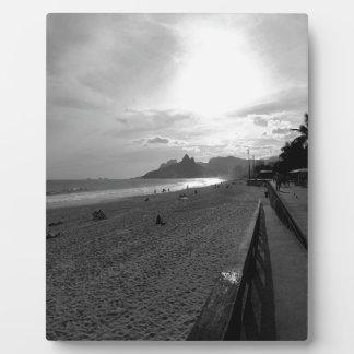 Plaque Photo Rio de Janeiro de plage d'Arpoador