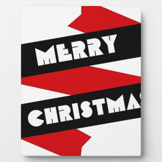 Plaque Photo Ruban de Joyeux Noël