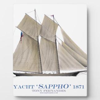 Plaque Photo Sappho 1871