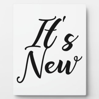 Plaque Photo Son nouveau concept de typographie