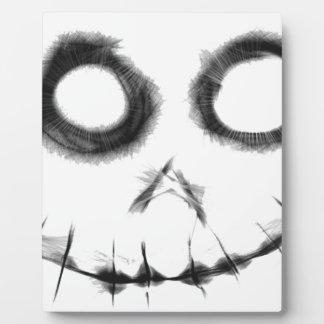 Plaque Photo sourire déplaisant 1 fou