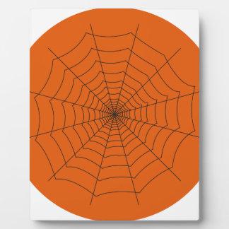 Plaque Photo spider