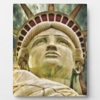Plaque Photo Statue de la liberté