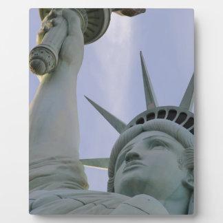 Plaque Photo Statue de la liberté des Etats-Unis de liberté de