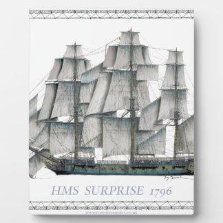 Plaque Photo Surprise 1796 de voie HMP