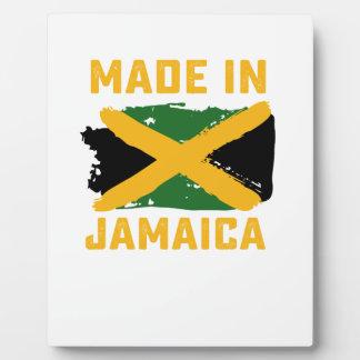 Plaque Photo T-shirt jamaïcain de drapeau