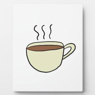 PLAQUE PHOTO TASSE DE CAFÉ MIGNONNE