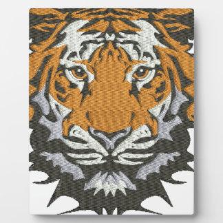 Plaque Photo tigre