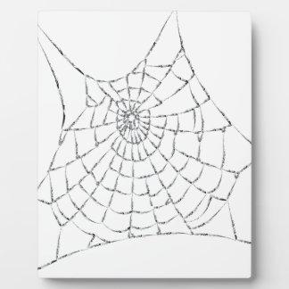 Plaque Photo Toile d'araignée