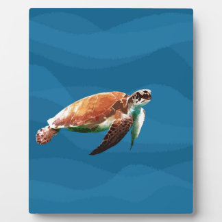 Plaque Photo Tortue de mer