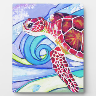 Plaque Photo Tortue de Surfin