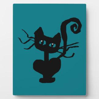 Plaque Photo Tuez le chat de bande dessinée de Kitty