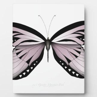 Plaque Photo Un plus grand rose de montagne de papillon rose